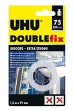 UHU DOUBLE FIX INDOORS-EXTRA STRONG  1.5 M X 19 MM
