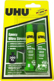 UHU EPOXY ULTRA STRONG 2 X 10 ML 37550