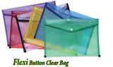 Flexi Button Clear Bag