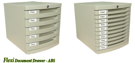 Flexi Document Drawer - ABS