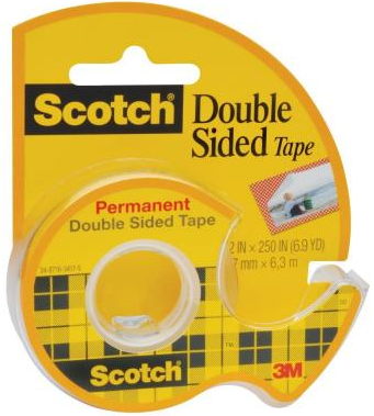 3M Scotch Permanent Double Sided Tape