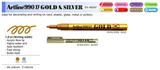 Artline 990 XF Gold & Silver