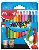 Maped 12pcs Wax Crayons 861011