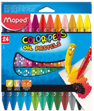 Maped 24pcs Oil Pastel 864012