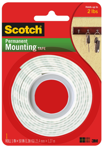 3M Scotch Permanent Mounting Tape