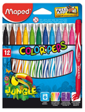 Maped 12pcs Jungle Colour Pen 845420