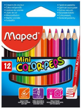 Maped 12pcs Mini Colour Pencils 832500