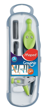 Maped Graphic 360 3pcs Interchangeable Compass 519143