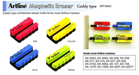 Artline Caddy Magnetic Whitboard Duster ERT-MMC