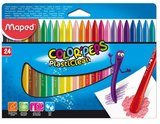 Maped 24pcs Smart Plastic Crayons 862013