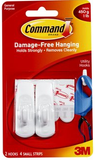 3M Command Small Hooks - 17002 ANZ