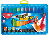 Maped 12pcs Smoothy Crayon 836112