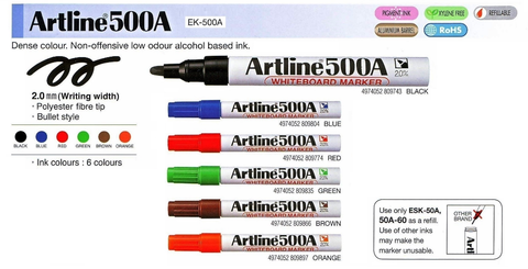 Artline Whiteboard Marker EK-500A