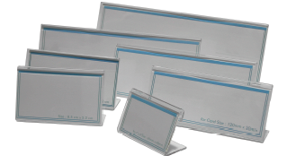 Flexi L-Shape Card Stand Thickness 2.0mm