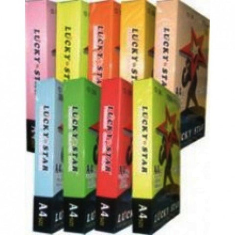 Lucky Star Colour Paper 80gsm 450sheets