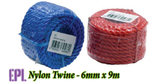 EPL Nylon Twine - 6mm x 9m