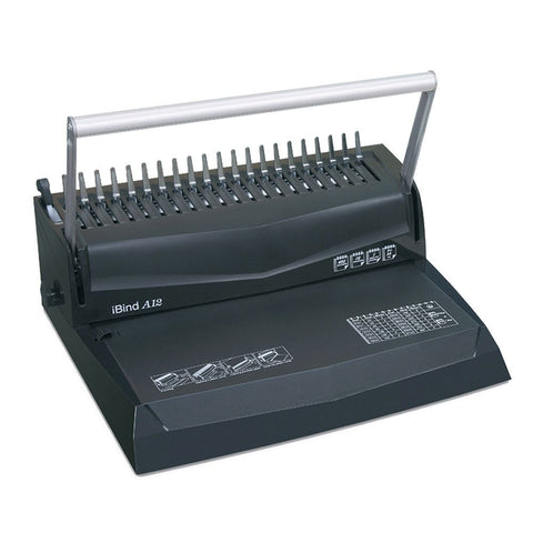 IBIND A12 COMB BINDING MACHINE LIGHT DUTY