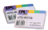 "EPL Notes Me 6/10"" x 2"""