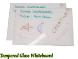 Tempered Glass WHiteboard