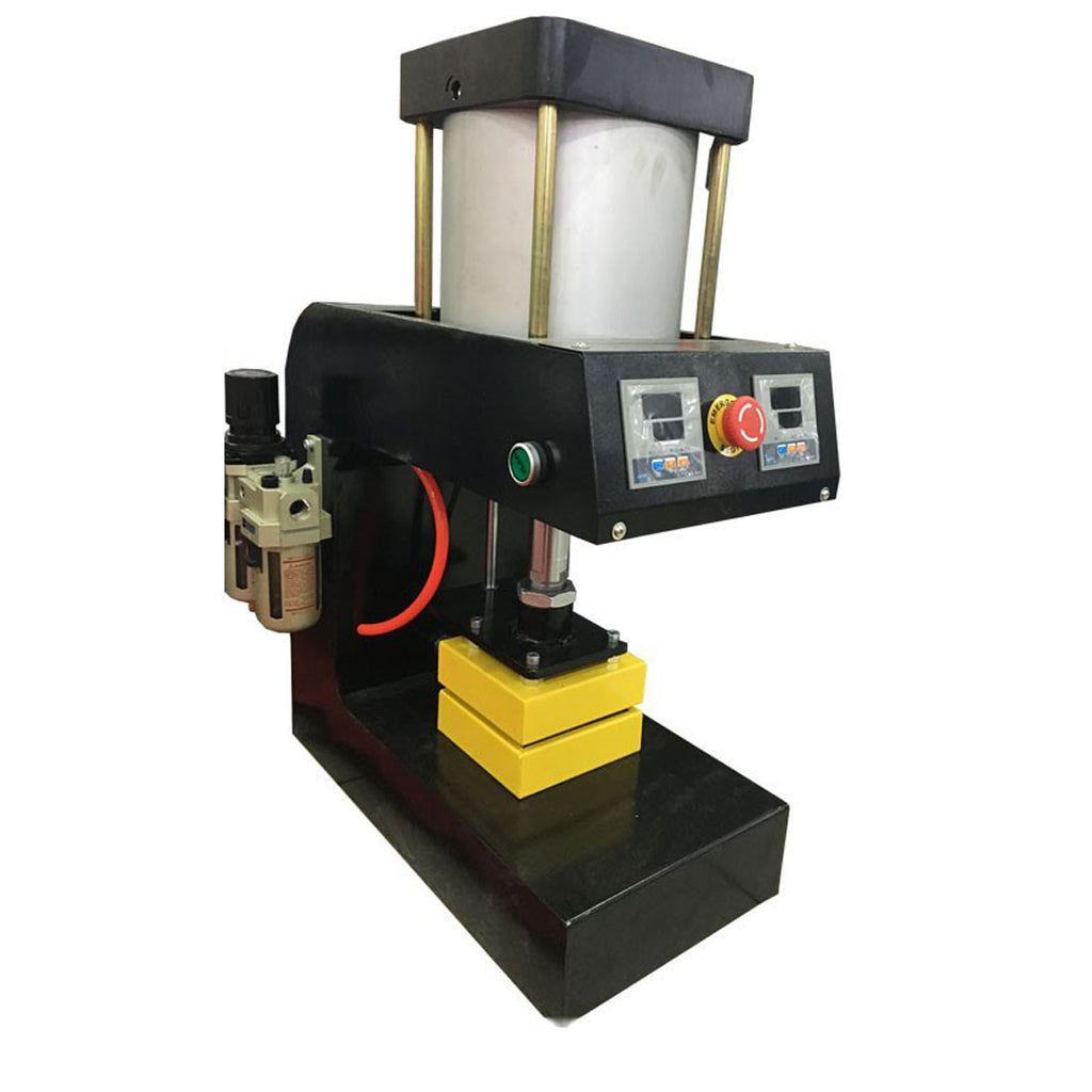 pneumatic rosin press 12000psi is 12cm x12cm plates