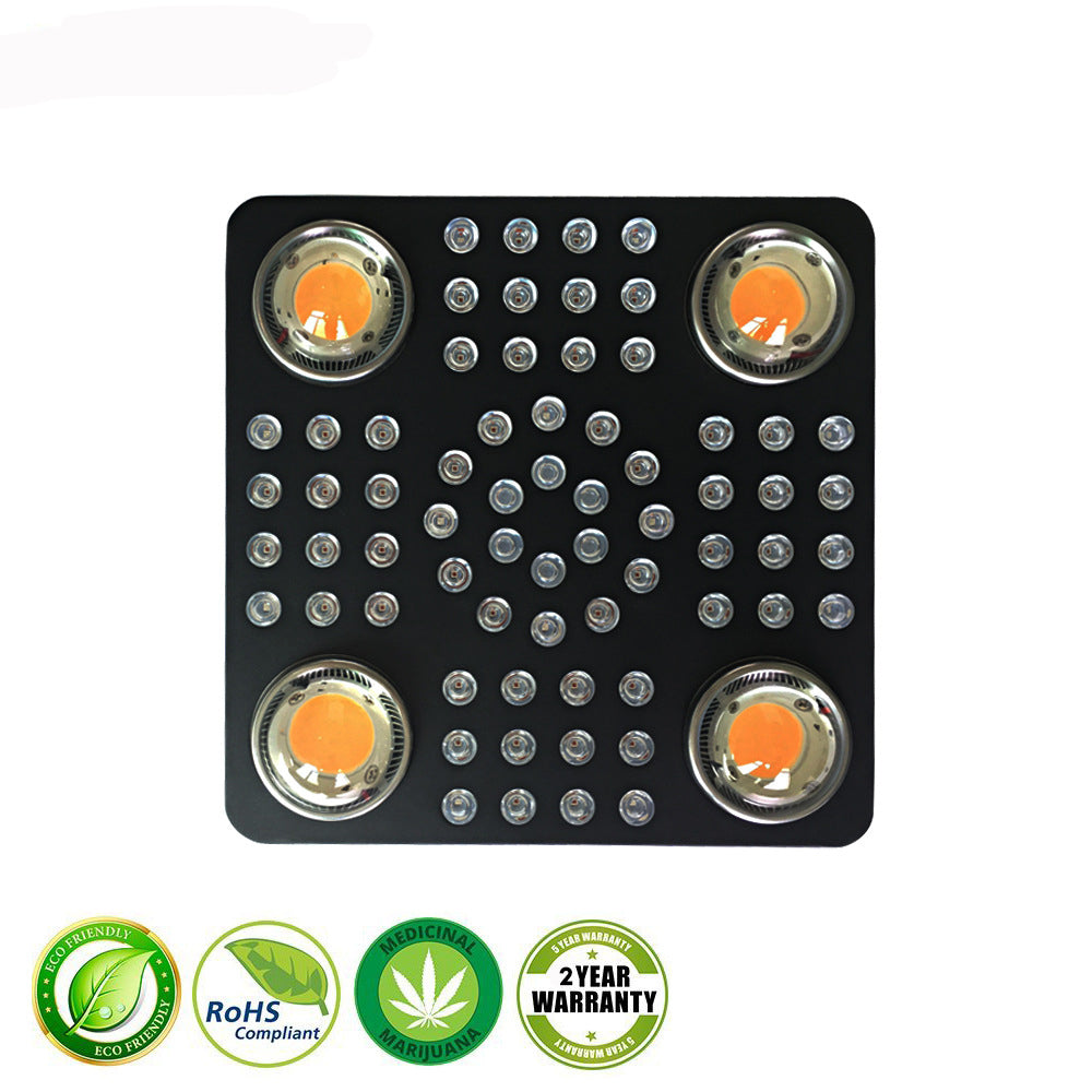 1000W led weed grow light IP54 66pcs 5W 4pcs CXB  2550umol/30cm