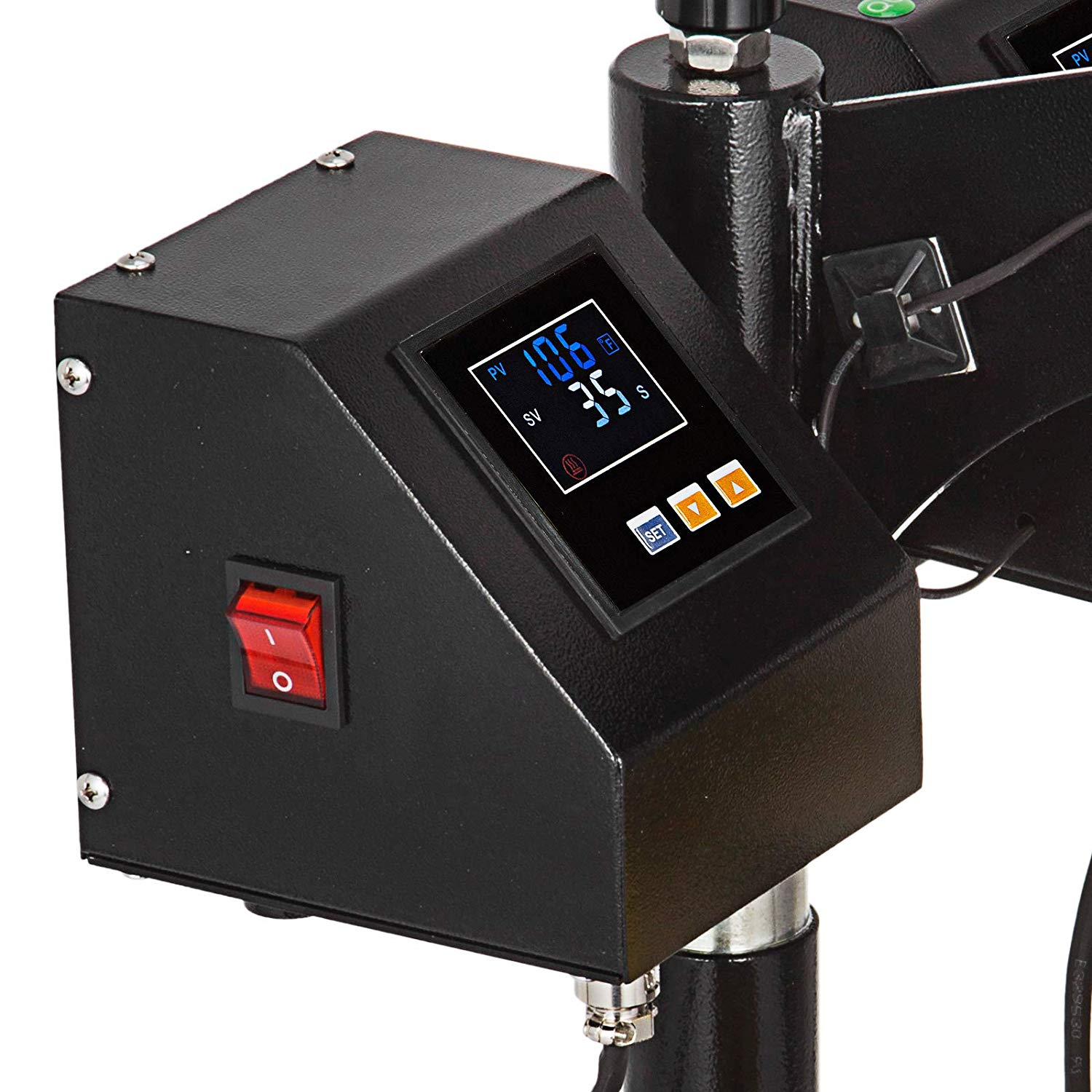 clampshell rosin press pid controller touch LCD display