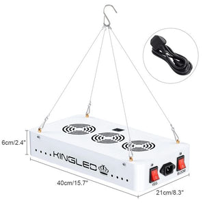 1500W Double Chips LED Grow Light