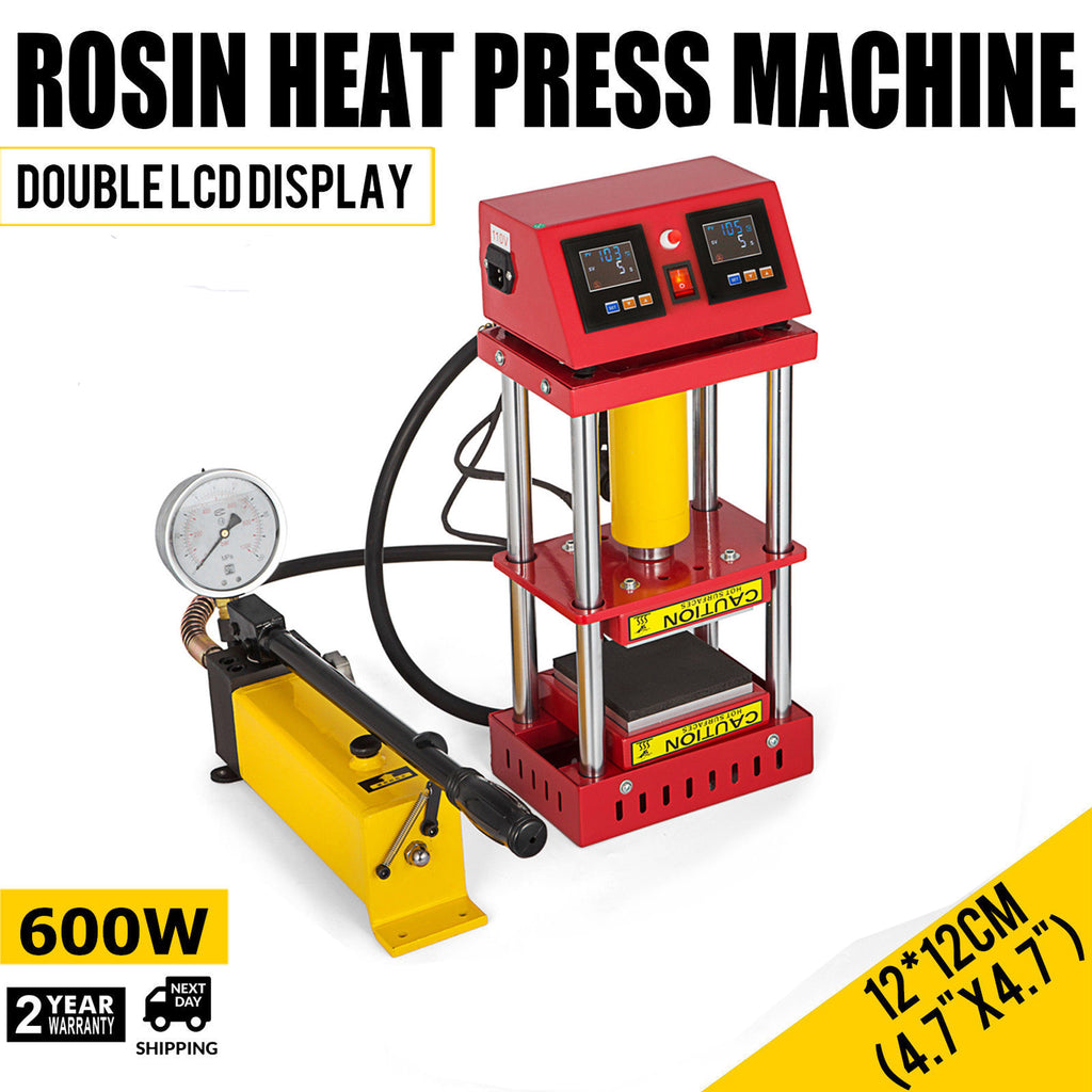 2 years warranty rosin press 600w power and 5ton pressure