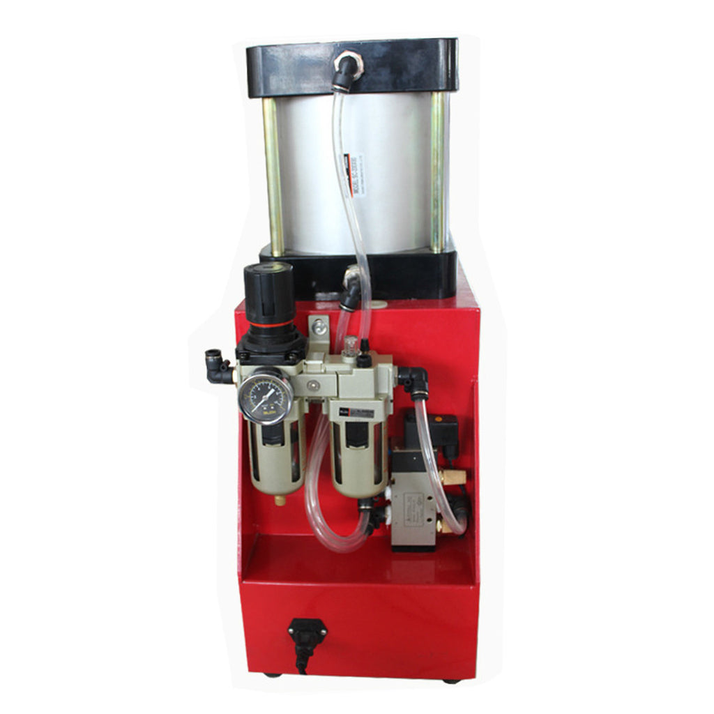 Pneumatic Auto rosin press 12000PSI 10cm diameter aluminium plates