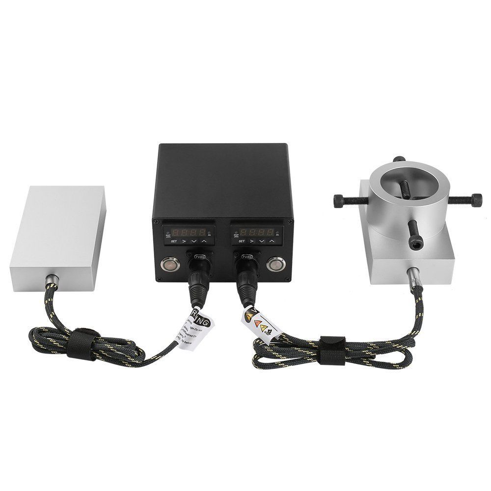 dual pid controller set both the top and bottom plates to press