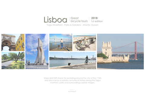 Lisbon bike route map - 2018