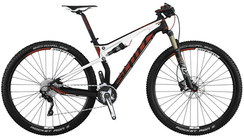Portugal full suspension mountain bike rental - Scott Spark 930
