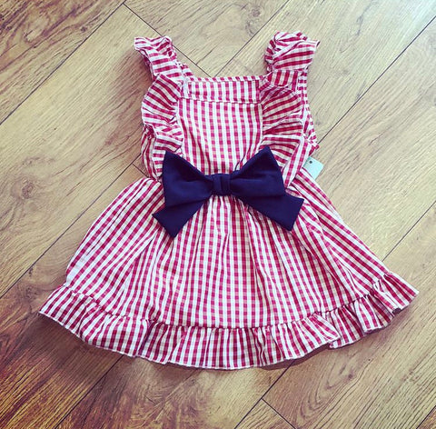 Red Lottie Dress