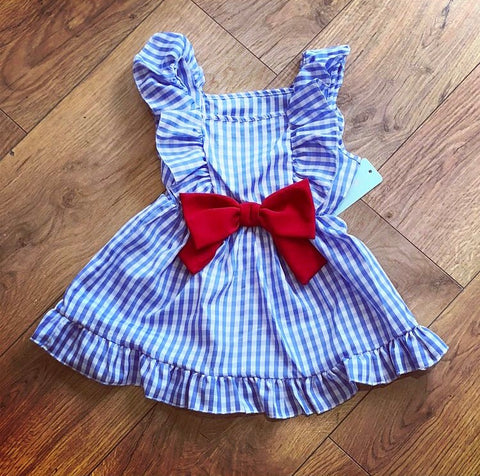Blue Lottie Dress