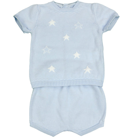 Lucas Knitted Shorts Set