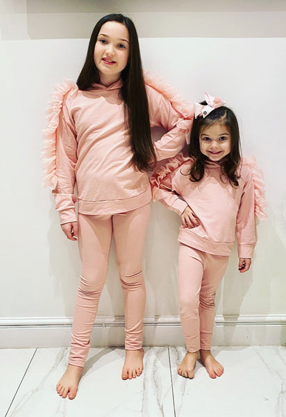 Pink Alessandra Tracksuit
