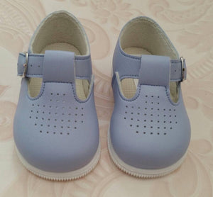 Blue George TBar Early Days First Walker Shoes