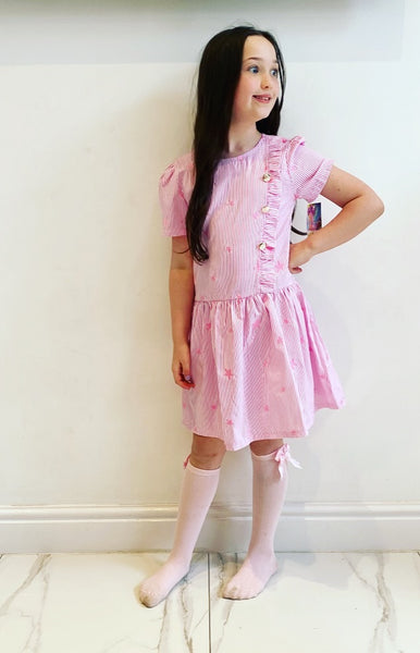 Pink Rosabel Star Dress