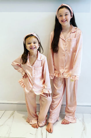 Pink Lottie Pyjama's 3 Piece Set