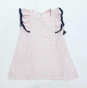 Pink Striped Esmerelda Dress