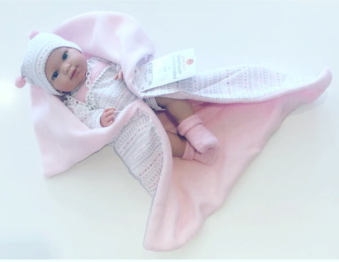 Spanish Girl Doll with Blanket