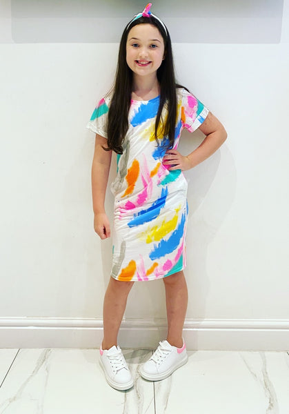 Briony Dress with Headband