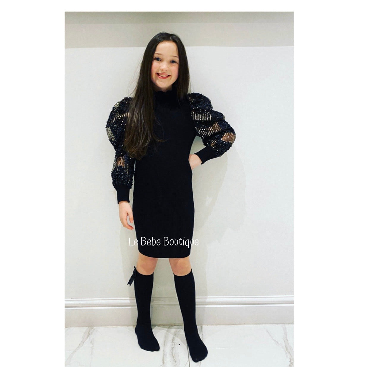 Black Kiana Dress