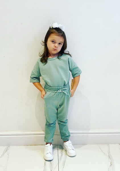 Green Eliza Tracksuit