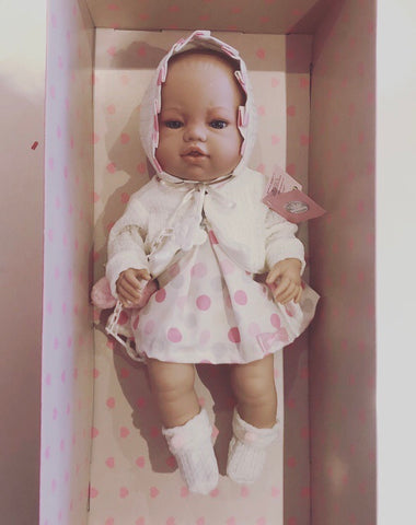 Spanish Girl '5112' Newborn Doll
