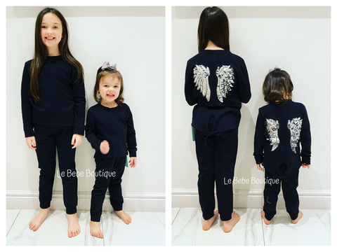 Black Wings Tracksuit