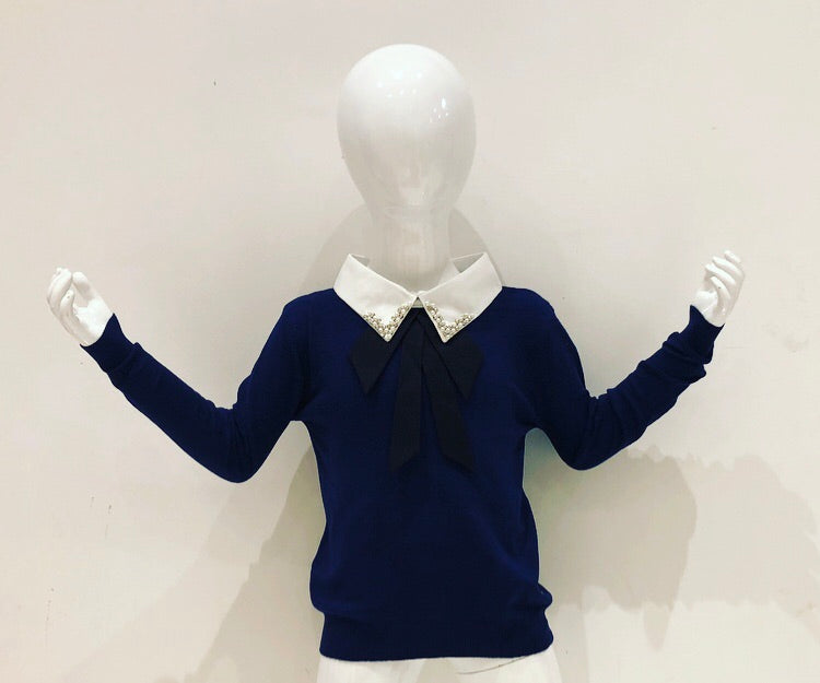 Navy Abella Jumper