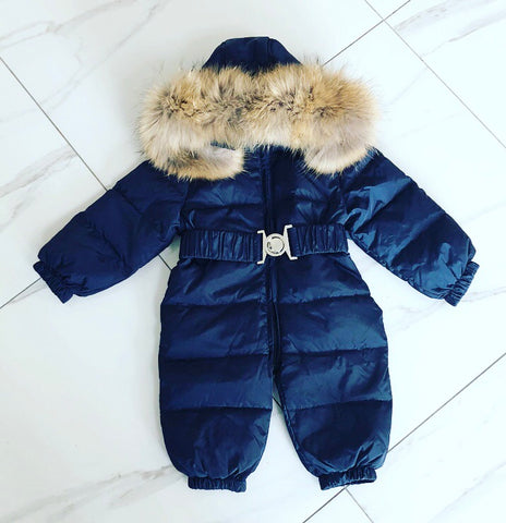 Navy Callisto Snowsuit