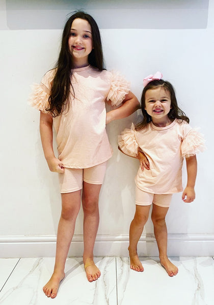 Pink Kimora Shorts Set