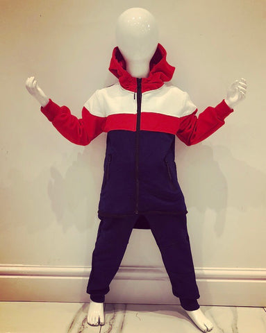 Red Zander Tracksuit